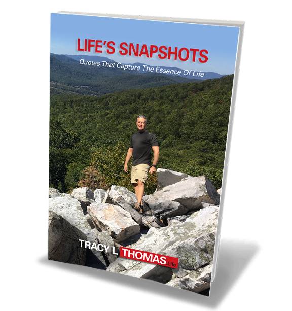 Tracy L Thomas - Life's Snapshots book cover