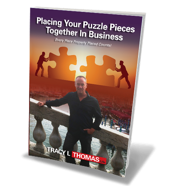 Tracy L Thomas - Placing Your Puzzle Pieces Together in Business book cover
