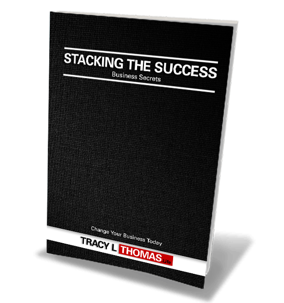 Tracy L Thomas Stacking Success book graphic
